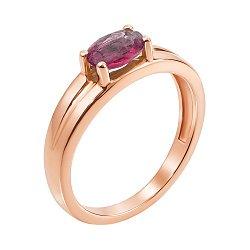 Кольцо из красного золота с рубином 000147453