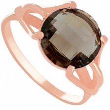 Золотое кольцо Саида с гидротермальным раухтопазом