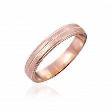 Серебряное кольцо Взаимность с позолотой