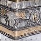Графин Грифон с серебром и позолотой 713/к