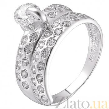 Серебряное кольцо Анита HUF--13261-Р