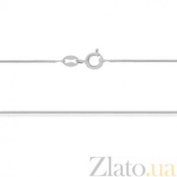 Серебряная цепь Нить любви, 45 см, 1 мм 000030867