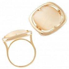 Серебряное кольцо Дайона с кошачьим глазом