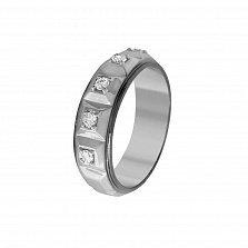 Кольцо из белого золота Тирриам с бриллиантами