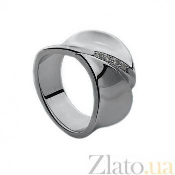 Серебряное кольцо с бриллиантами Энджи  79100299