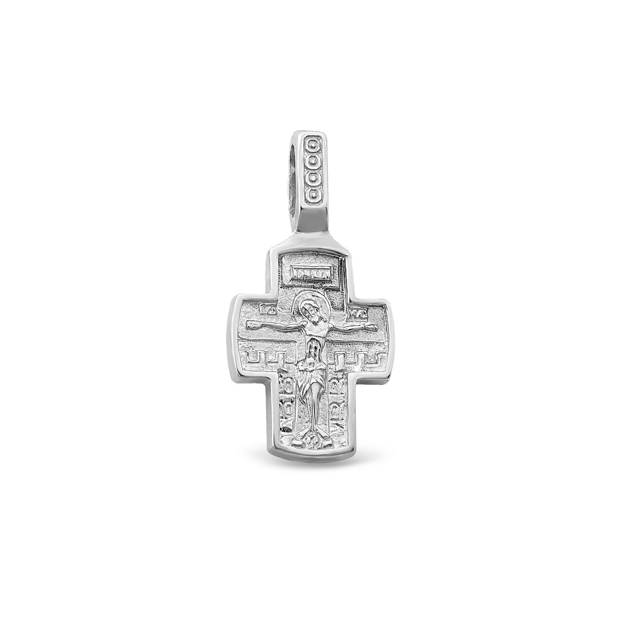 Серебряный крестик Духовная жизнь
