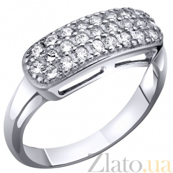 Серебряное кольцо с фианитами Дебора AUR--71580б/a
