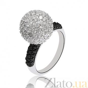 Серебряное кольцо Аврора 10000007