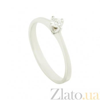 Золотое помолвочное кольцо с бриллиантом Предложение К171:ЭД-КД7527/1_3/5