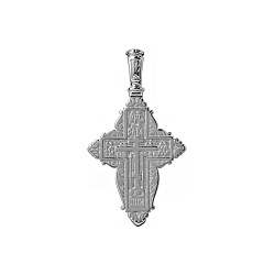 Серебряный крестик Светлая Вера