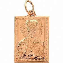 Золотая ладанка Святой покровитель