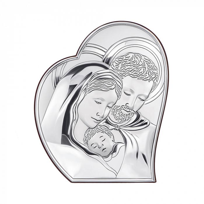 Серебряная икона Святое Семейство 000123580 000123580