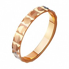 Золотое обручальное кольцо Гармония отношений