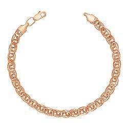 Золотой браслет в плетении Нонна Бисмарк 000113449