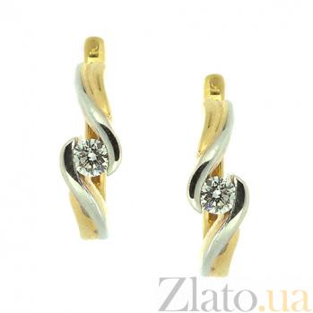 Золотые серьги с бриллиантами Берта ZMX--ED-6277y_K