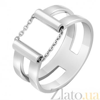 Золотое кольцо в белом цвете Движение 000032643