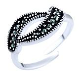 Кольцо из серебра Джози с марказитом