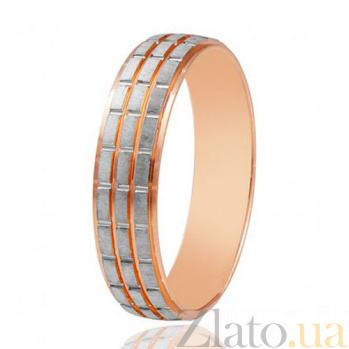 Золотое обручальное кольцо Империя страсти 000001671