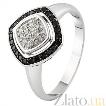 Золотое кольцо с бриллиантами Катарина KBL--К1905/бел/чбрил
