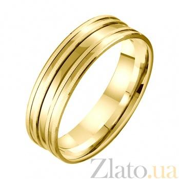 Золотое обручальное кольцо Рассвет наших чувств TRF--431388