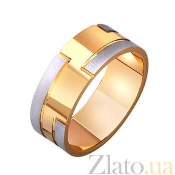 Золотое обручальное кольцо Счастье любить TRF--411573