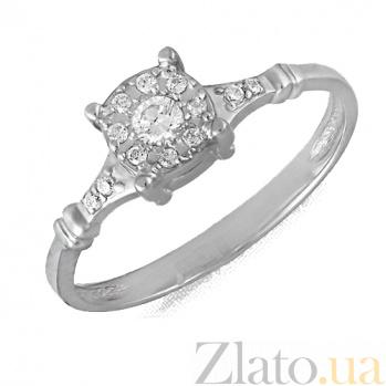Золотое кольцо с фианитами Калерия 000022921