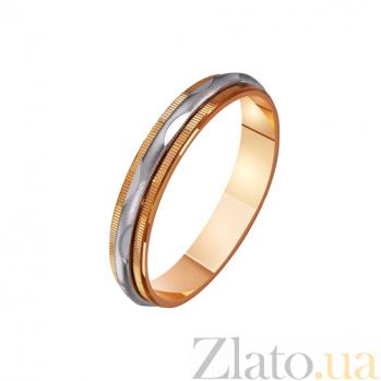 Золотое обручальное кольцо Меган TRF--421205