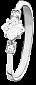 Серебряное кольцо с фианитами Фрея 000025778