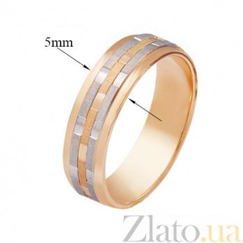 Золотое обручальное кольцо Сихам 000001609