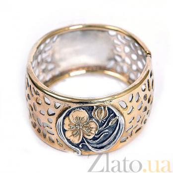 Серебряный браслет с позолотой Табити 5404