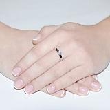 Кольцо из белого золота Джулия