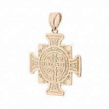 Золотая ладанка Католическая