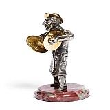 Серебряная статуэтка Артист