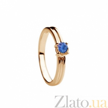 Золотое кольцо с сапфиром Эмилия 000030137