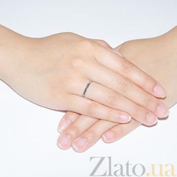 Обручальное кольцо из белого золота Безграничная любовь OBTF002