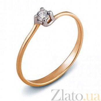 Кольцо из красного золота Элла 12076 с