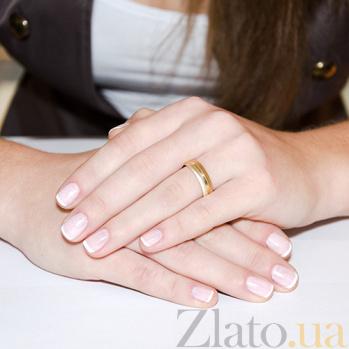 Золотое обручальное кольцо Первое свидание TRF--431248