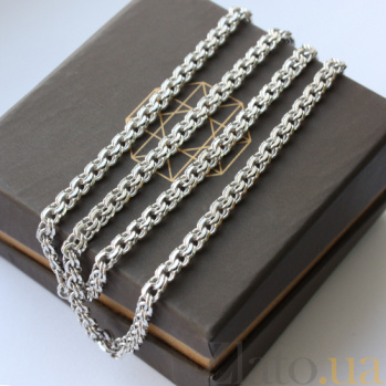 Серебряная цепочка 000015136