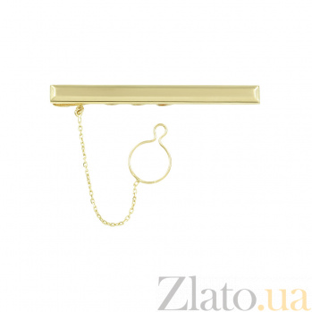 Золотой зажим для галстука Имидж 2Г143-0001