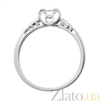 Кольцо из белого золота с бриллиантами Карера ин Карера KBL--К1891/бел/брил