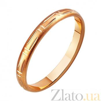 Золотое обручальное кольцо Любовь Клеопатры TRF--411109