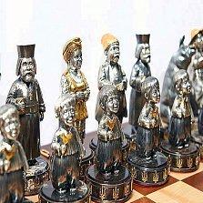 Серебряные шахматы Украинцы против Евреев