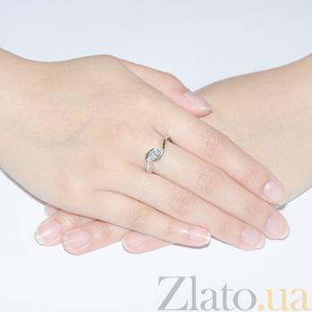 Золотое кольцо с бриллиантом огранки Маркиз R 0276