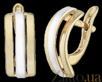 Серебряные серьги Business style SLX--С32/210