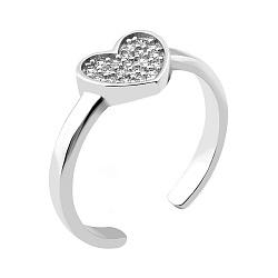 Серебряное кольцо с фианитами 000082125