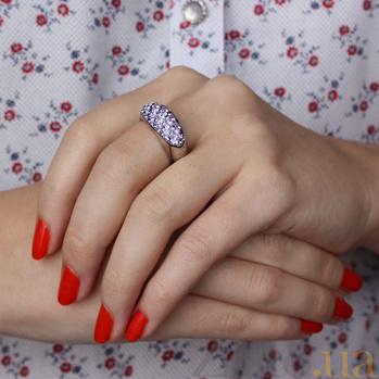 Серебряное кольцо Вдохновение 10000000