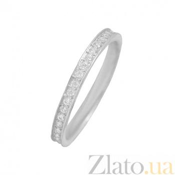 Серебряное кольцо с фианитами Бланш 3К570-0090
