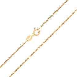 Серебряная цепь с позолотой 000027379