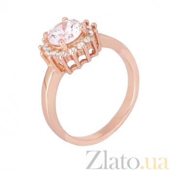 Серебряное кольцо с цирконием Анкария 000028402