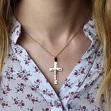 Золотой крестик Благословение